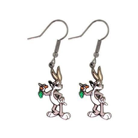 Paire Boucles d'oreilles pendantes Bugs Bunny