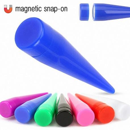 bons plans sur la mode meilleur site web dessins attrayants Faux Piercing Ecarteur Acrylique Magnétique