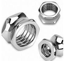 Piercing plug boulon hexagonal