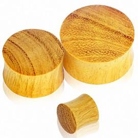 Piercing plug bois de jacquier