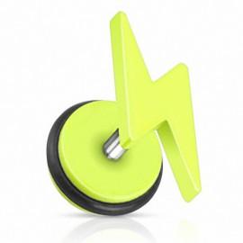 Faux Piercing Plug Eclair