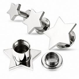 Piercing tunnel étoile
