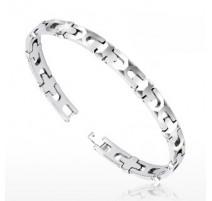 Bracelet Bio-Magnetic Tungstène Multi-Facettes