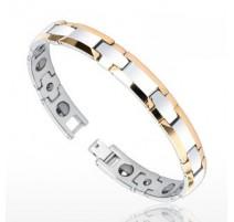 Bracelet Bio-Magnetic Tungstène Duo Tons cuivrés