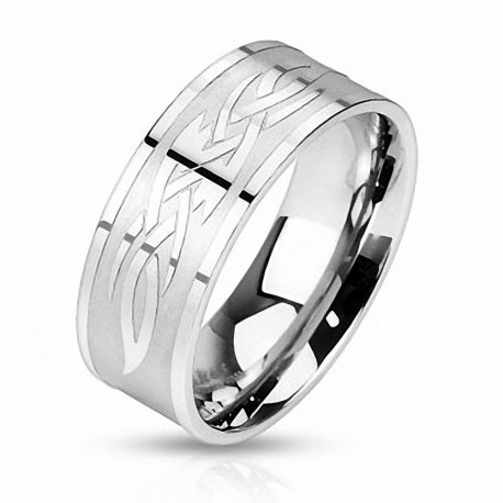 Bague homme tribale