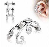 Piercing Helix Cartilage Traineau