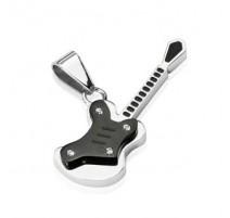 Pendentif Guitare acier inoxydable