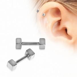 Piercing cartilage cubes