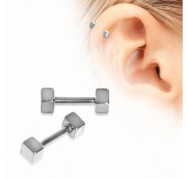 Piercing cartilage cubes