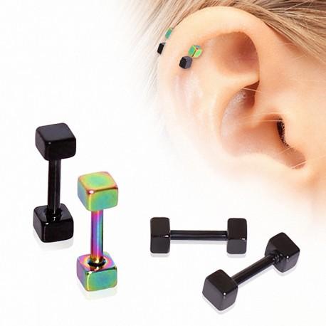 Piercing hélix cubes