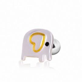 Piercing hélix cartilage éléphant