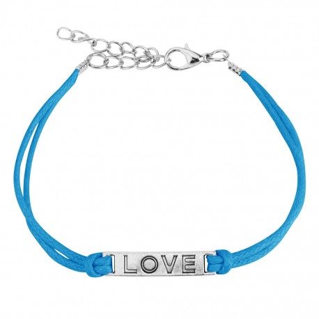 Bracelet similicuir LOVE