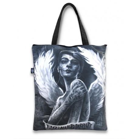 LIQUOR BRAND Sac en toile gothique Angelica