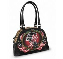LIQUOR BRAND Sac à main gothique American Gypsy