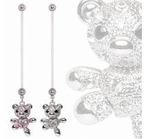 Piercing nombril de grossesse Teddy Bear