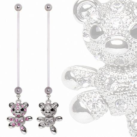 Piercing nombril de grossesse Teddy Bear