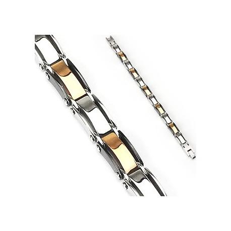 Bracelet en acier inoxydable Multi-couleurs