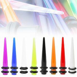 Piercing Ecarteur Oreille Acrylique UV
