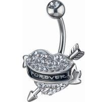 Piercing nombril Crystal Evolution Swarovski Forever