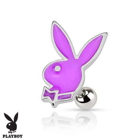 Piercing cartilage lapin Playboy