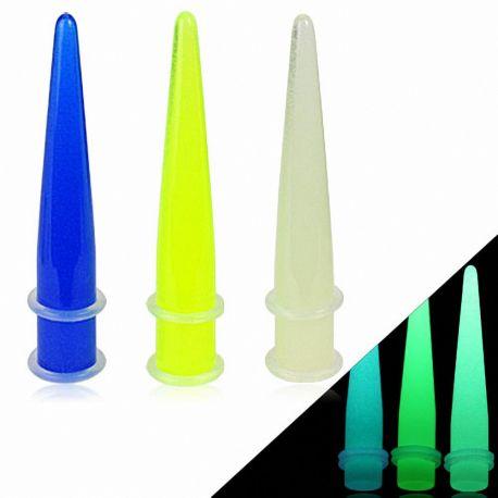 Piercing écarteur phosphorescent