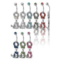 Piercing nombril Crystal Evolution Swarovski Menottes