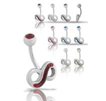 Piercing nombril Crystal Evolution Swarovski Infini