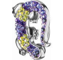 Piercing nombril Crystal Evolution Swarovski Gecko