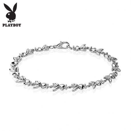 Bracelet Playboy lapins gemmes
