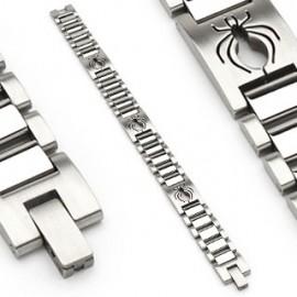 Bracelet en acier inoxydable Araignée