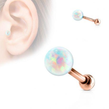 Piercing cartilage or rose opale