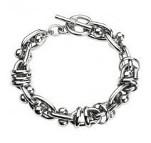Bracelet acier inoxydable Multiples Anneaux