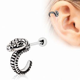 Piercing cartilage hélix serpent