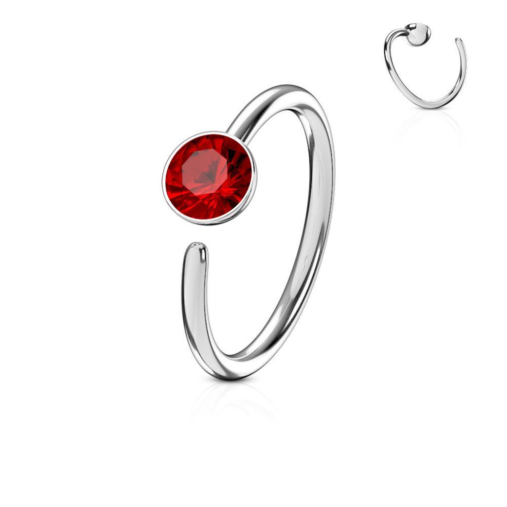 piercing nez anneau pierre zircon. Black Bedroom Furniture Sets. Home Design Ideas