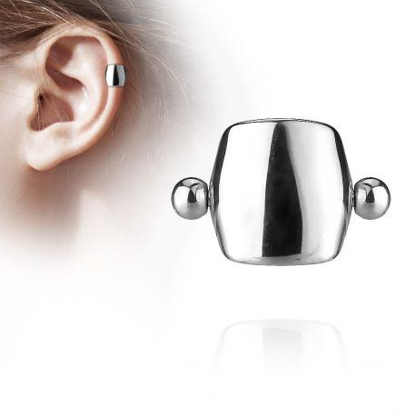 Piercing Oreille Helix Cartilage Barbell Bouclier