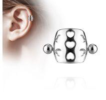 Piercing Oreille Helix Cartilage Barbell Bouclier Coeurs
