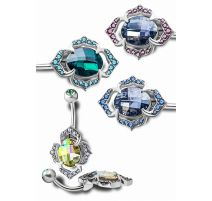 Piercing nombril Crystal Evolution Swarovski Marrakech