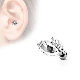 Piercing oreille cartilage oeil omniscient
