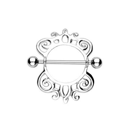 Piercing Téton Bouclier Royal - Bijou Piercing Téton