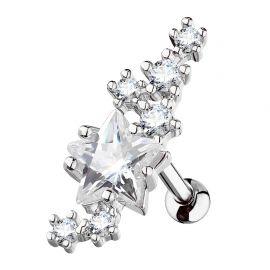 Piercing cartilage étoile et cluster