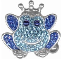 Piercing nombril Crystal Evolution Grenouille Swarovski