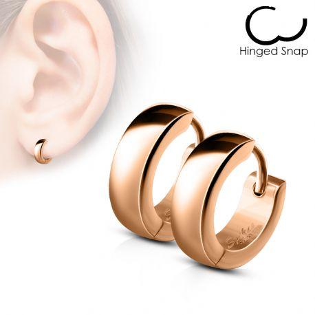 anneau boucle d'oreille homme clip