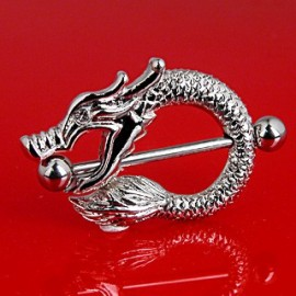 Piercing Téton Bouclier Dragon