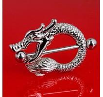 Piercing Téton Bouclier Dragon - Bijou Piercing Téton