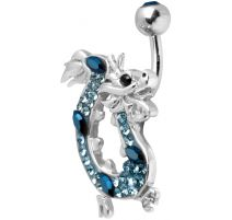 Piercing nombril Crystal Evolution Swarovski Dragon