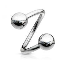 Piercing Spirale Boules