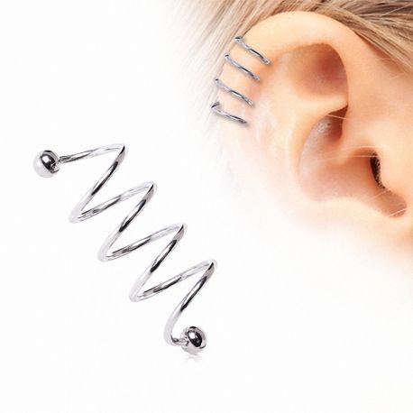Piercing quatre spirale