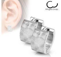 Paire Boucles d'oreille spirales