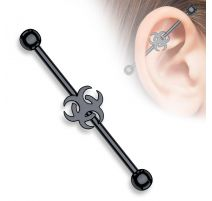 Piercing industriel biohazard