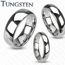 Bague Mariage traditionnelle en Tungstène